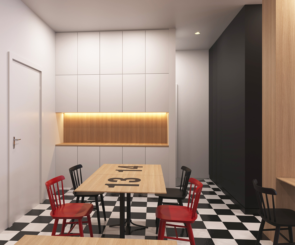 """projeto para um """"espaço de tertúlia"""" 3   Hauss - Interior Design e Contract"""