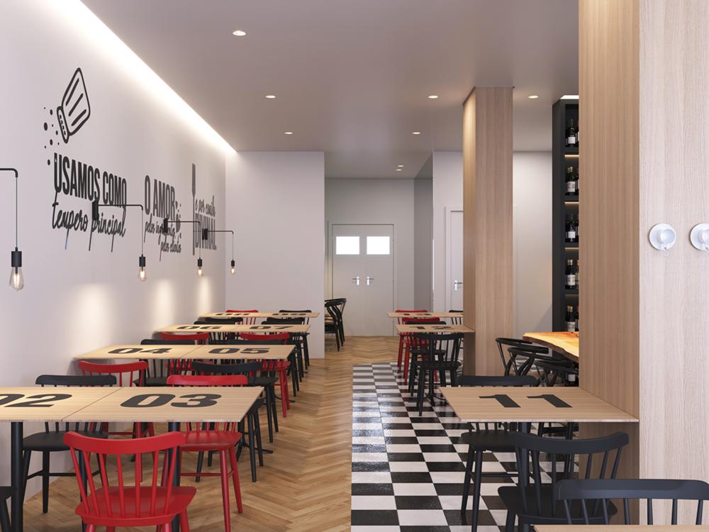 """projeto para um """"espaço de tertúlia"""" 1   Hauss - Interior Design e Contract"""