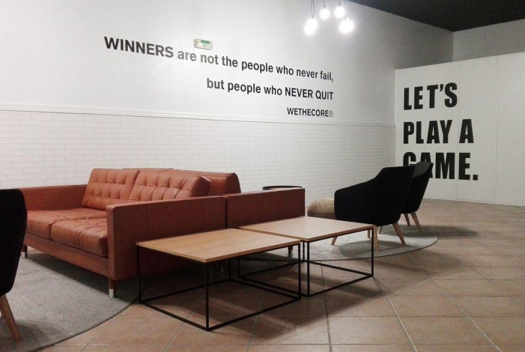 Um refeitório, um espaço de lazer 1 | Hauss - Interior Design e Contract