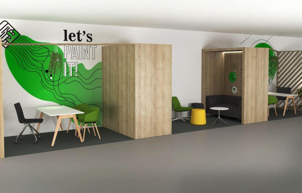 Espaço de trabalho e coworking 2   Hauss - Interior Design e Contract