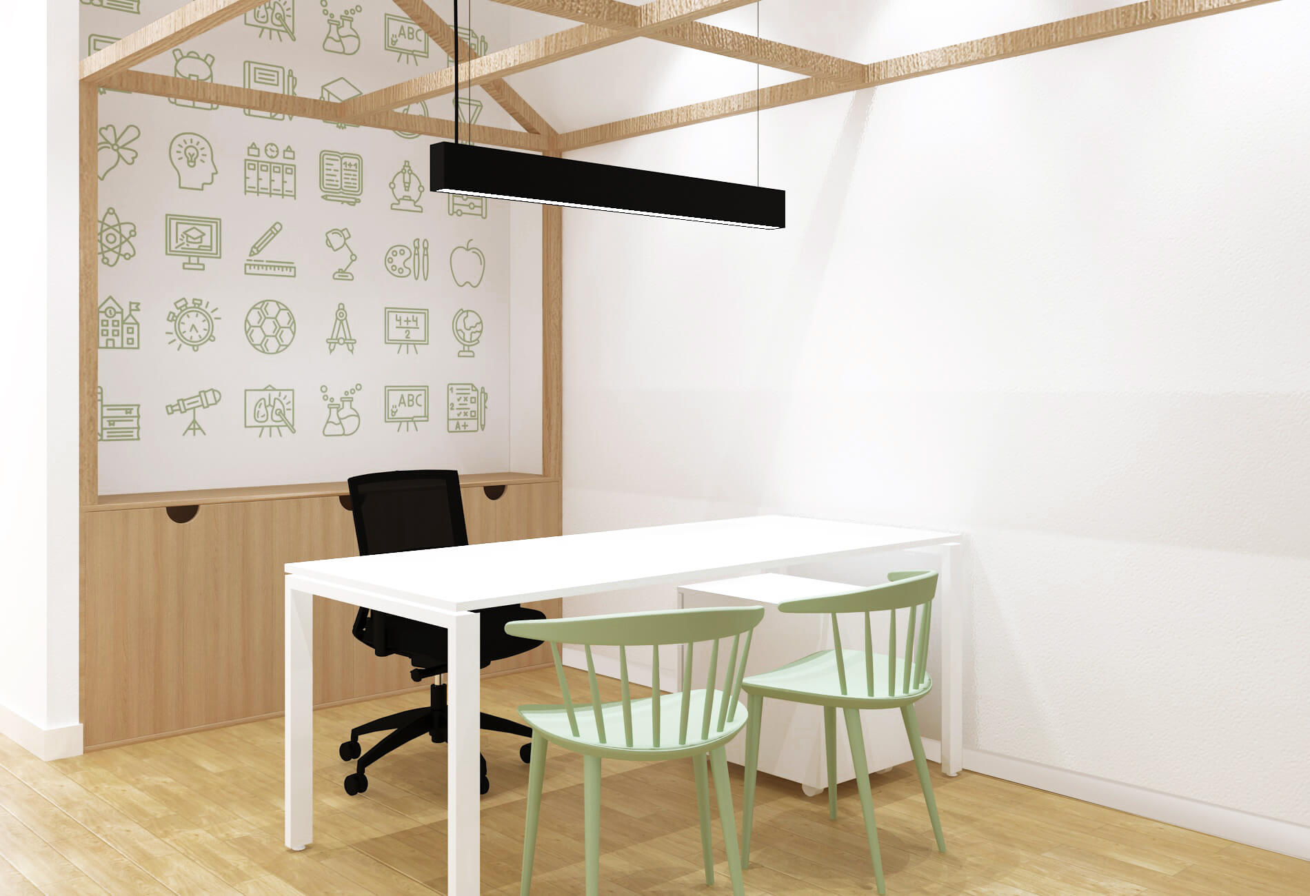 A união da classe docente 2 | Hauss - Interior Design e Contract