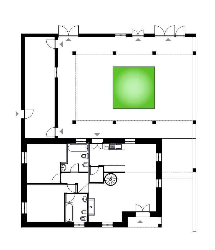 Remodelação de uma Moradia de Família 1 | Hauss - Interior Design e Contract