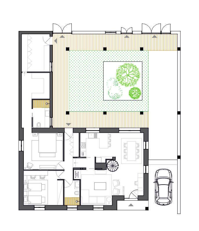 Remodelação de uma Moradia de Família 8 | Hauss - Interior Design e Contract