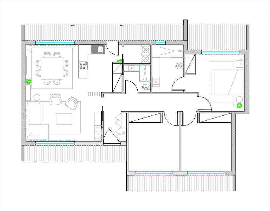 Quando o pequeno se traduz em conforto 1   Hauss - Interior Design e Contract